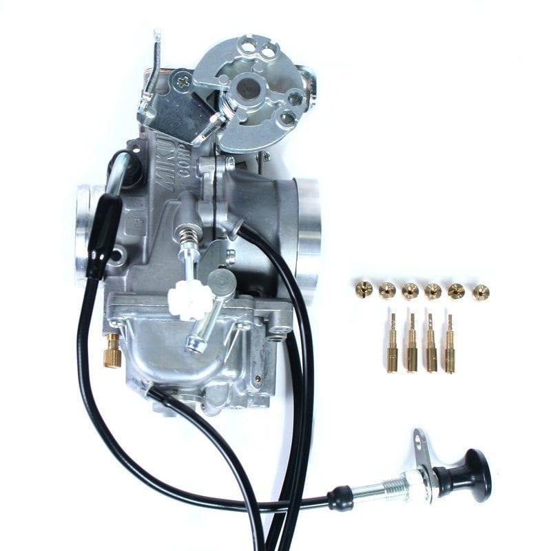 DR650 Mikuni TM40 Pumper Carburetor Kit - Adventure Bike