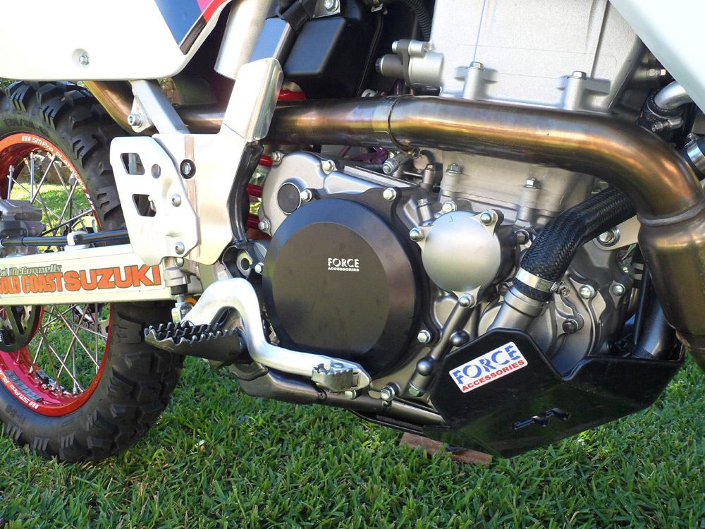 Force DRZ400 Clutch Cover
