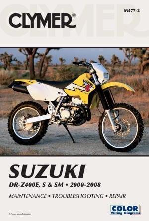 drz400 clymer repair manual adventure bike australia rh adventurebikeaustralia com au suzuki drz400e service manual suzuki drz400e service manual