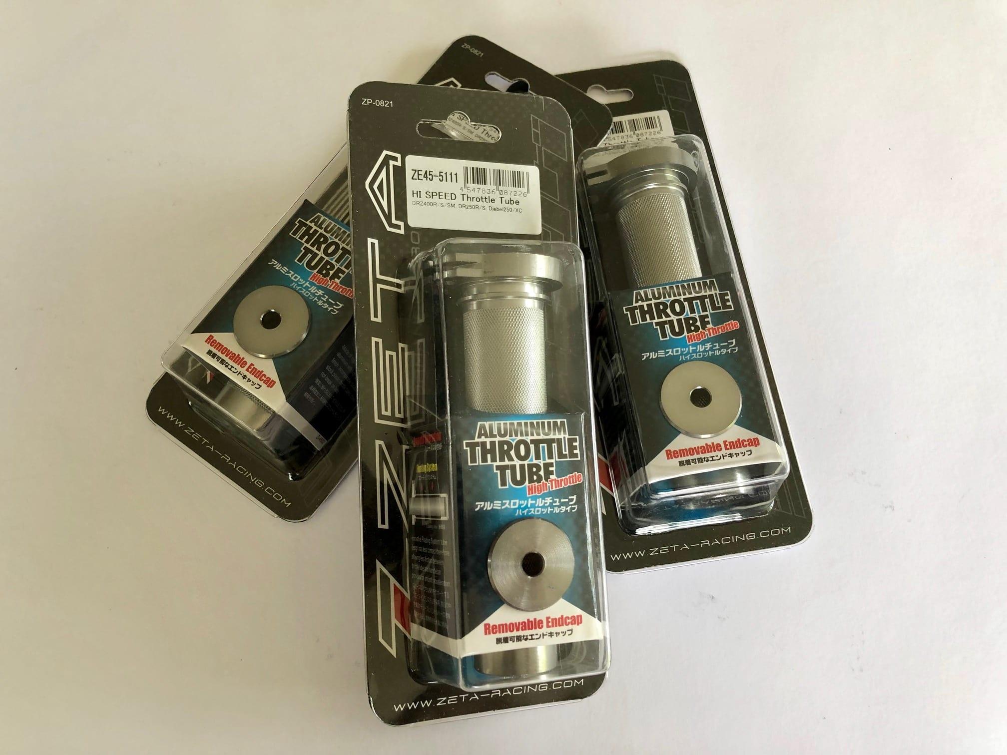 Zeta DRZ/DR Hi-Speed Throttle Tube